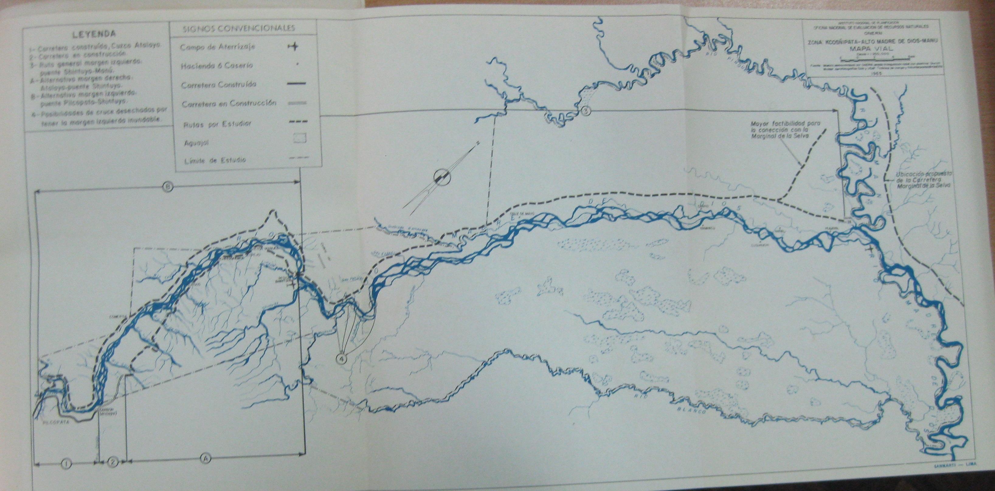 Competing plans for use of manu lands 1960s patagonian for Oficina nacional de evaluacion